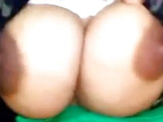 Good large nippled indian breasts groped
