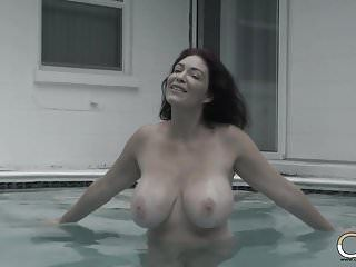 Underwater 10-pounder teasing with large tit milf charlee follow