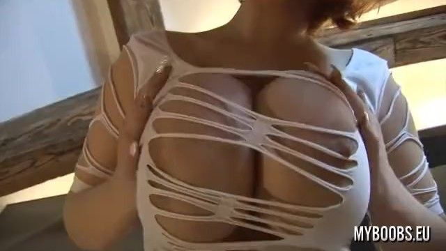 Huge, round and hanging massive pantoons compilation 1