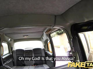 Fake taxi pretty youthful darksome hotty in bodysuit