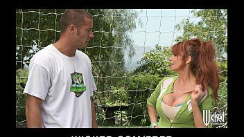 Big-tit british redhead soccer mama lia lor copulates her sons tutor