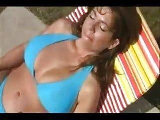 Smokin Hawt Mama Bikini Tugjob